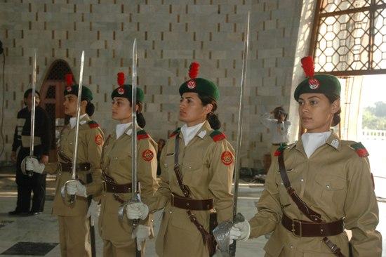 Females jobs in pak army